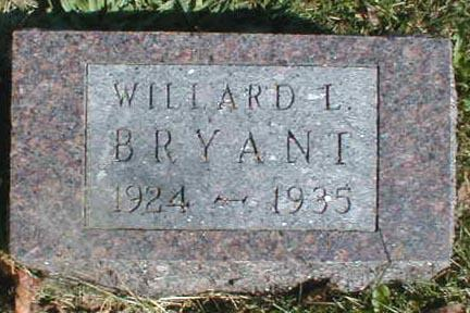 BRYANT, WILLARD L. - Lee County, Iowa | WILLARD L. BRYANT