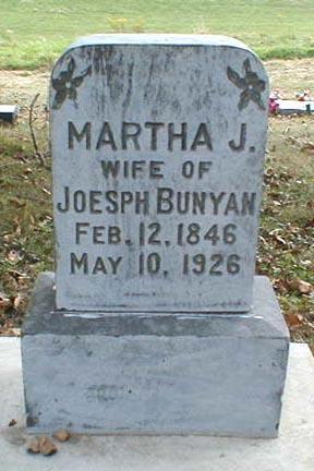 BUNYAN, MARTHA J. - Lee County, Iowa | MARTHA J. BUNYAN