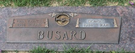 HANEY BUSARD, DORCAS - Lee County, Iowa   DORCAS HANEY BUSARD