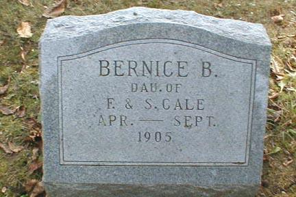 CALE, BERNICE B. - Lee County, Iowa | BERNICE B. CALE