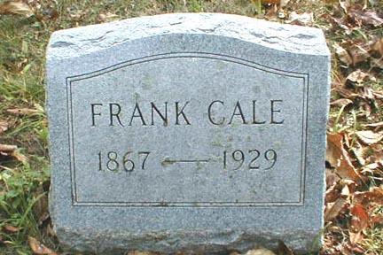 CALE, FRANK - Lee County, Iowa | FRANK CALE