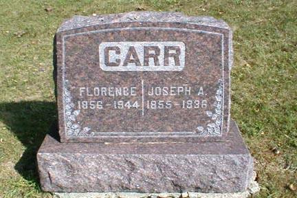 CARR, FLORENCE - Lee County, Iowa | FLORENCE CARR