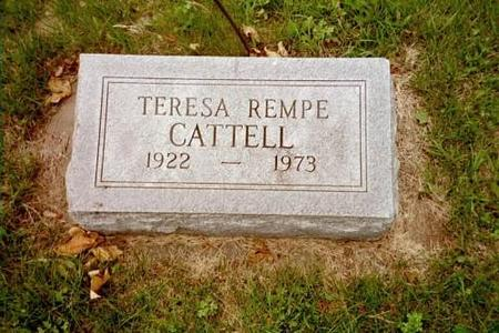 CATTELL, TERESA REMPE - Lee County, Iowa | TERESA REMPE CATTELL