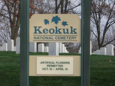 KEOKUK NATIONAL, CEMETERY - Lee County, Iowa | CEMETERY KEOKUK NATIONAL