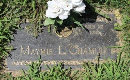 CHAMLEE, MAYMIE LEORA - Lee County, Iowa | MAYMIE LEORA CHAMLEE