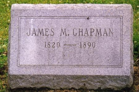 CHAPMAN, JAMES MADISON - Lee County, Iowa | JAMES MADISON CHAPMAN