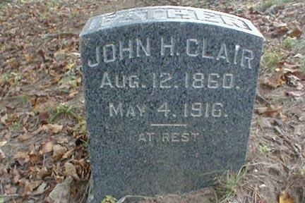 CLAIR, JOHN H. - Lee County, Iowa | JOHN H. CLAIR