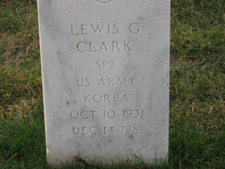CLARK, LEWIS   G. - Lee County, Iowa | LEWIS   G. CLARK