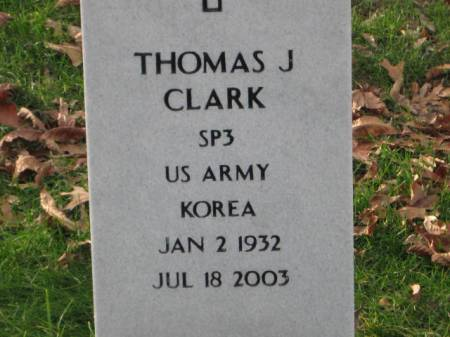 CLARK, THOMAS  J. - Lee County, Iowa | THOMAS  J. CLARK