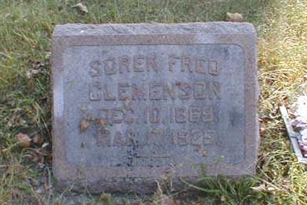 CLEMENSON, SOREN FRED - Lee County, Iowa | SOREN FRED CLEMENSON