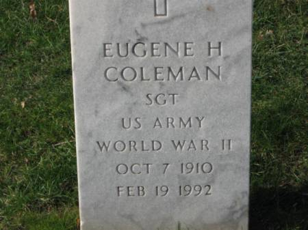 COLEMAN, EUGENE  H. - Lee County, Iowa | EUGENE  H. COLEMAN