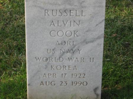 COOK, RUSSELL  ALVIN - Lee County, Iowa | RUSSELL  ALVIN COOK