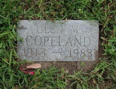 COPELAND, GLENN - Lee County, Iowa   GLENN COPELAND