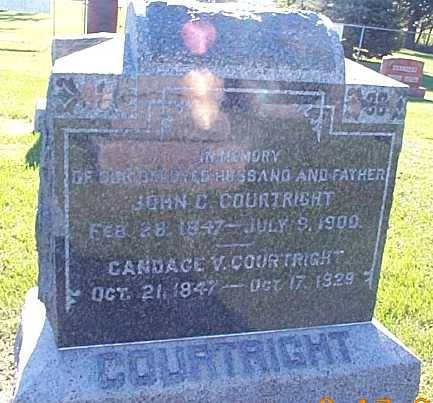 COURTRIGHT, JOHN C. & CANDICE V. - Lee County, Iowa | JOHN C. & CANDICE V. COURTRIGHT