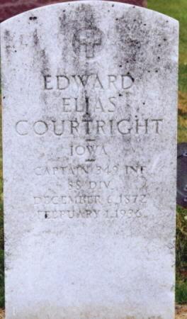 COURTRIGHT, EDWARD ELIAS - Lee County, Iowa   EDWARD ELIAS COURTRIGHT