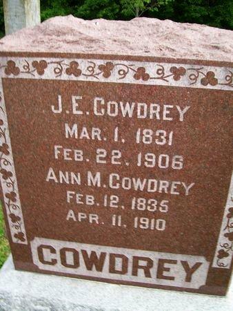 COWDREY, ANN M. - Lee County, Iowa | ANN M. COWDREY