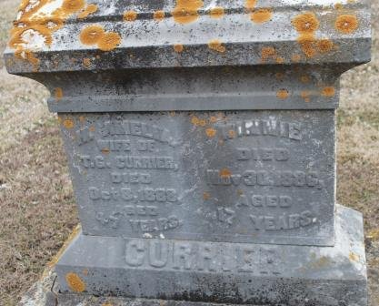 CURRIER, H. AMELIA - Lee County, Iowa   H. AMELIA CURRIER