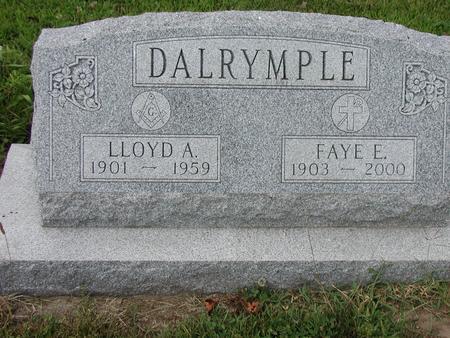 BURNS DALRYMPLE, FAYE - Lee County, Iowa | FAYE BURNS DALRYMPLE