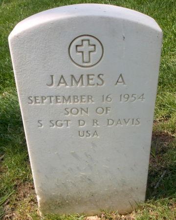 DAVIS, JAMES A - Lee County, Iowa   JAMES A DAVIS