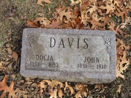 DAVIS, JOHN  & DOCIA - Lee County, Iowa | JOHN  & DOCIA DAVIS