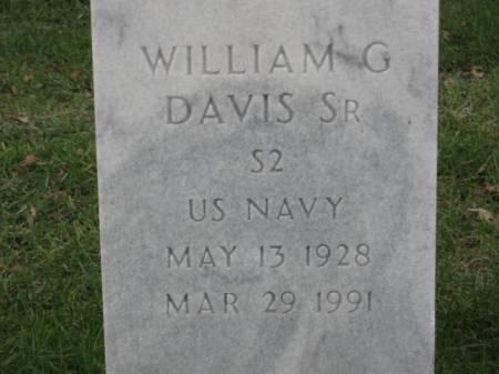 DAVIS,  SR., WILLIAM  G. - Lee County, Iowa | WILLIAM  G. DAVIS,  SR.