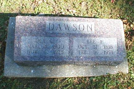 DAWSON, OLA C - Lee County, Iowa | OLA C DAWSON