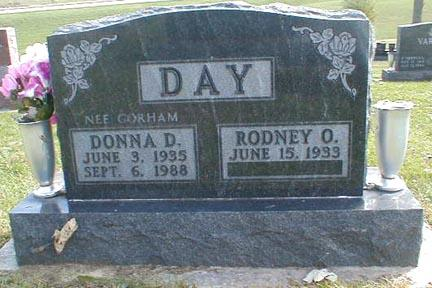 DAY, DONNA D. - Lee County, Iowa | DONNA D. DAY