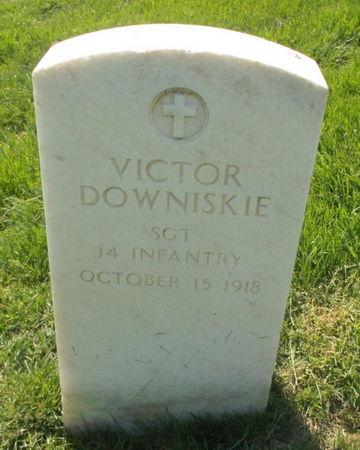 DOWNISKIE, VICTOR - Lee County, Iowa   VICTOR DOWNISKIE