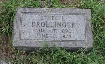 DROLLINGER, ETHEL - Lee County, Iowa | ETHEL DROLLINGER