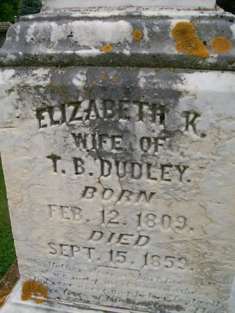 DUDLEY, ELIZABETH K. - Lee County, Iowa   ELIZABETH K. DUDLEY