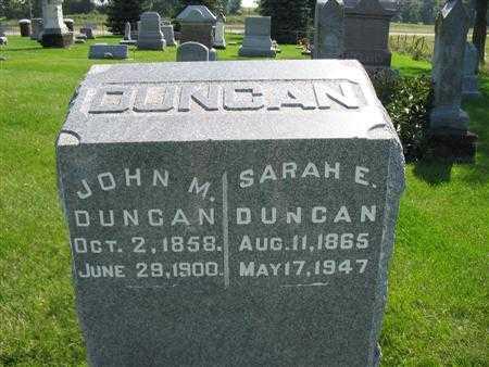 DUNCAN, JOHN M. - Lee County, Iowa | JOHN M. DUNCAN
