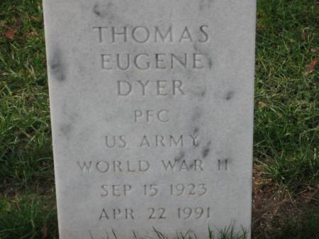 DYER, THOMAS EUGENE - Lee County, Iowa | THOMAS EUGENE DYER