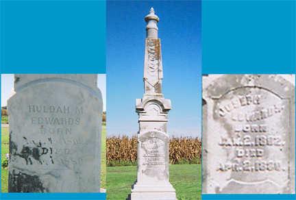 HATHAWAY EDWARDS, HULDAH M - Lee County, Iowa | HULDAH M HATHAWAY EDWARDS