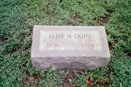 EKINS, ELDA MARIE - Lee County, Iowa | ELDA MARIE EKINS
