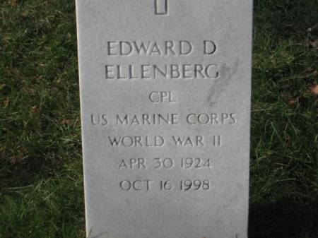 ELLENBERG, EDWARD  D. - Lee County, Iowa   EDWARD  D. ELLENBERG