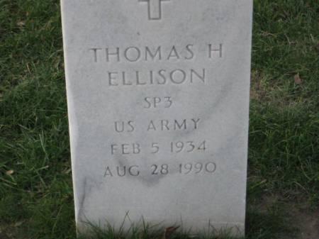 ELLISON, THOMAS  H. - Lee County, Iowa   THOMAS  H. ELLISON