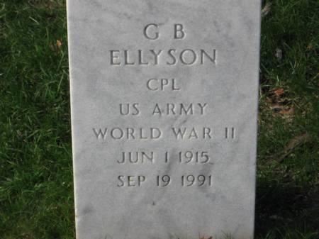 ELLYSON, G. B. - Lee County, Iowa | G. B. ELLYSON