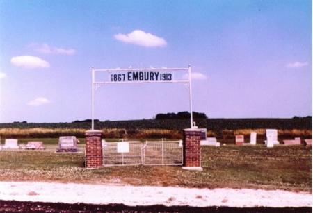 EMBURY, CEMETERY - Lee County, Iowa | CEMETERY EMBURY