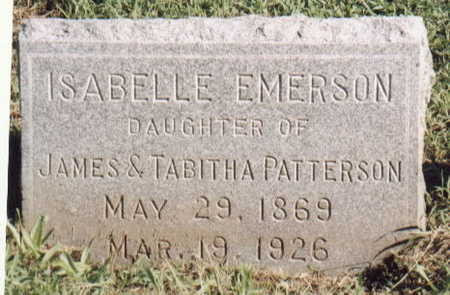 PATTERSON EMERSON, ISABELLE - Lee County, Iowa | ISABELLE PATTERSON EMERSON