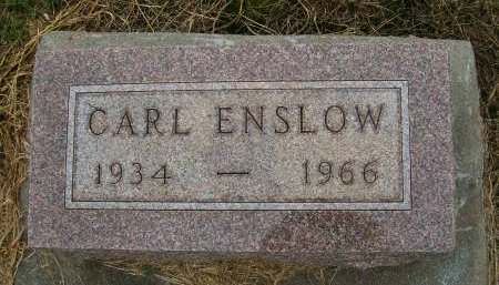 ENSLOW, CARL - Lee County, Iowa | CARL ENSLOW