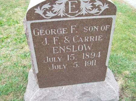 ENSLOW, GEORGE F. - Lee County, Iowa | GEORGE F. ENSLOW