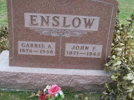 ENSLOW, JOHN F. - Lee County, Iowa | JOHN F. ENSLOW