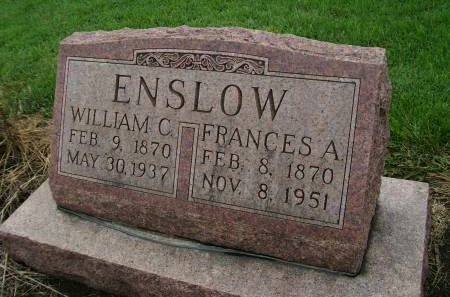ENSLOW, WILLIAM C. - Lee County, Iowa | WILLIAM C. ENSLOW