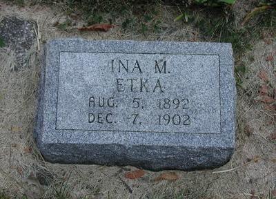 ETKA, INA - Lee County, Iowa   INA ETKA