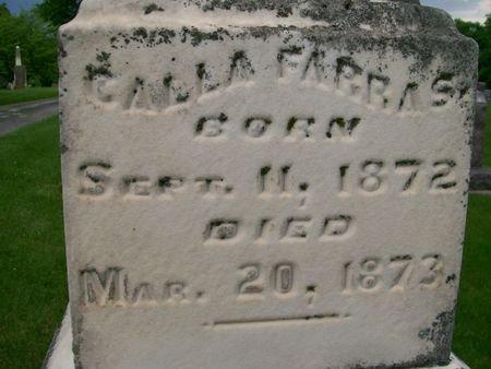 FARRAS, CALLA - Lee County, Iowa | CALLA FARRAS
