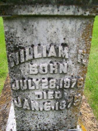 FAYERWEATHER, WILLIAM F. - Lee County, Iowa | WILLIAM F. FAYERWEATHER