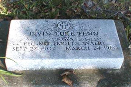 FENN, IRVIN LUKE - Lee County, Iowa | IRVIN LUKE FENN