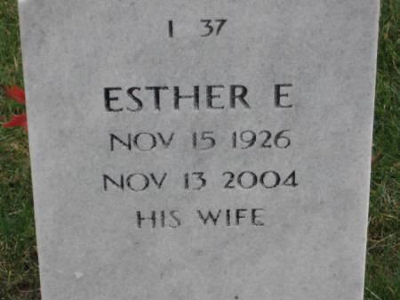 FITZPATRICK, ESTHER  E. - Lee County, Iowa | ESTHER  E. FITZPATRICK