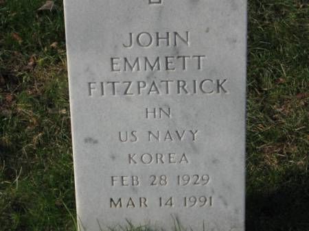FITZPATRICK, JOHN  EMMETT - Lee County, Iowa | JOHN  EMMETT FITZPATRICK