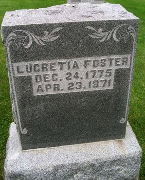 FOSTER, LUCRETIA - Lee County, Iowa | LUCRETIA FOSTER